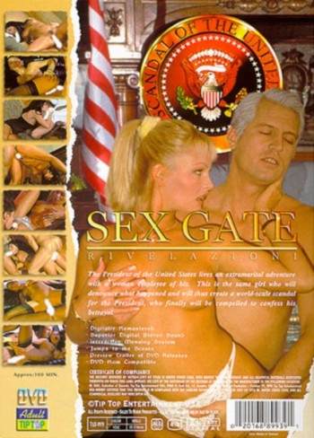 Sex Gate - back cover