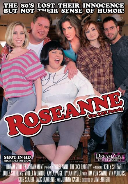 Roseanne XXX Porn Parody poster