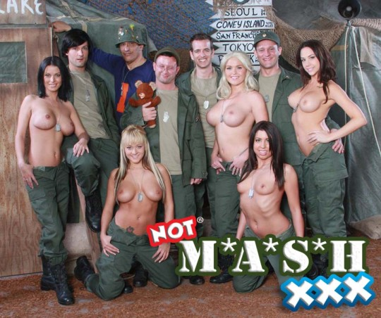 Not M*A*S*H XXX parody cast photo