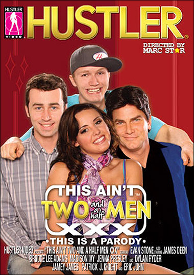 This Aint Two Half Men XXX Hustler porn parody Charlie Sheen