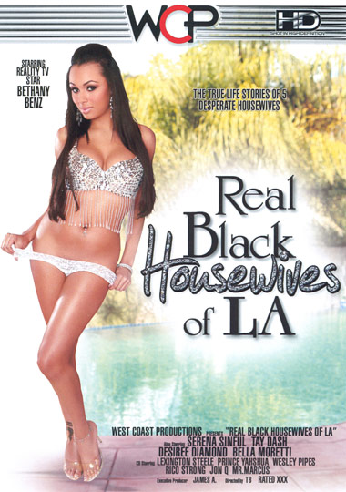 Real Black Housewives Of LA xxx porn parody