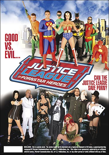 Justice League of Pornstar Superheroes XXX porn parody