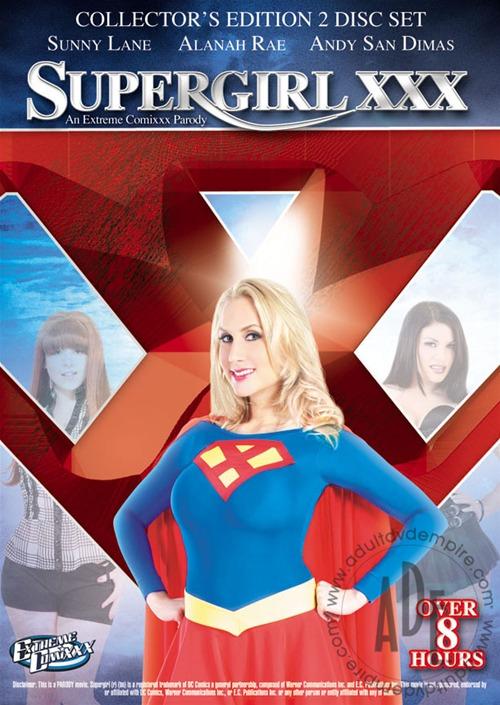 Supergirl XXX: An Extreme Comixxx Porn Parody