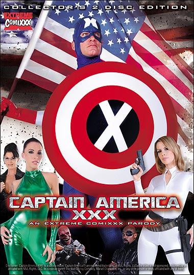 Captain America XXX: An Extreme Comixxx Porn Parody