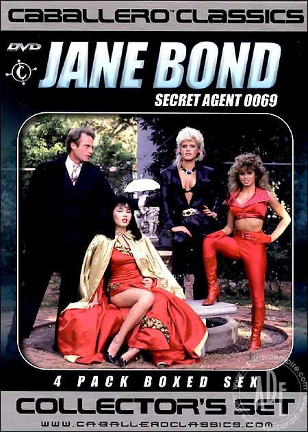 Jane Bond Secret Agent 0069 4-Disc Collector's Set