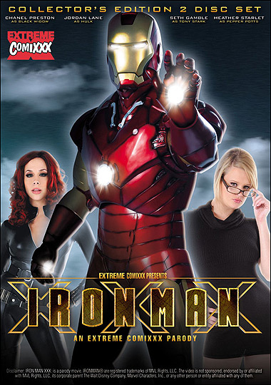 Iron Man XXX - Extreme Comixxx porn parody