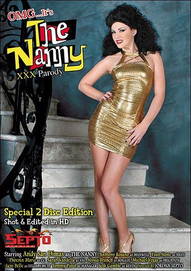 OMG It's The Nanny XXX Parody - fake Fran Drescher porn