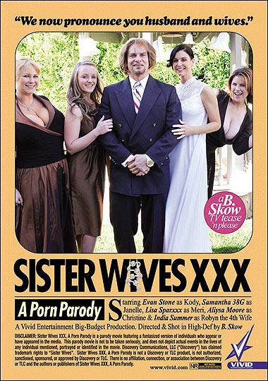Sister Wives XXX Porn Parody - Vivid