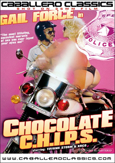 Chocolate Chips - motorcycle cop xxx porn parody