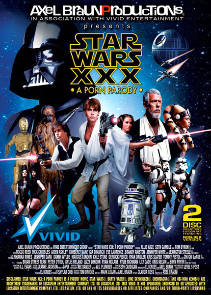 Star Wars XXX: A Porn Parody. Release date scheduled for Tuesday, ...