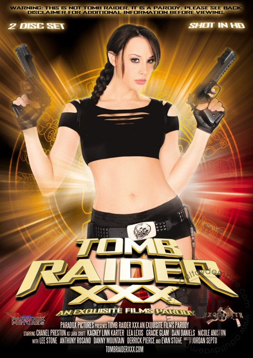 Tomb Raider XXX Porn Parody - Chanel Preston as Lara Croft