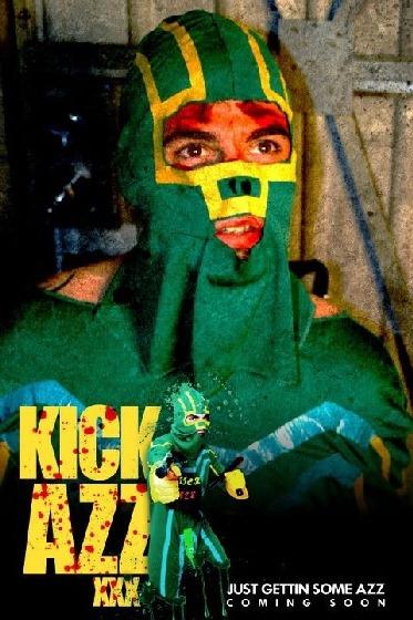 Kick Azz XXX Poster superhero costume