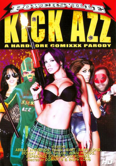 Kick ass xxx parody