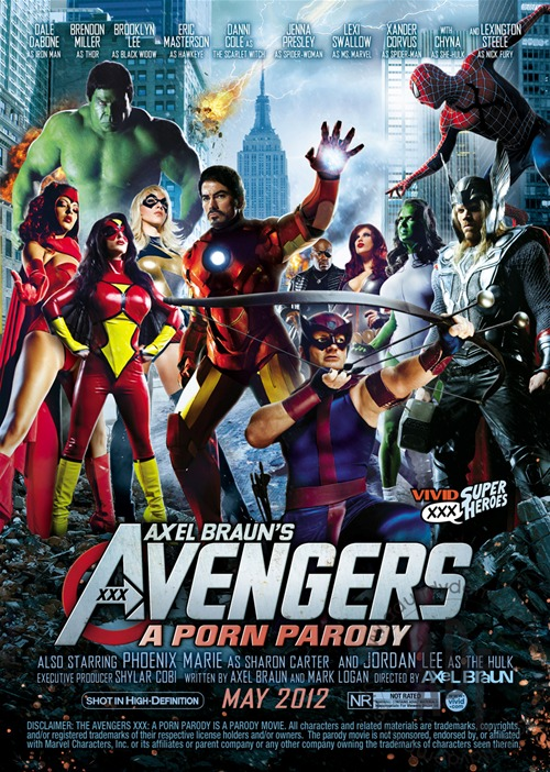 Axel Braun's The Avengers XXX: A Porn Parody from Vivid