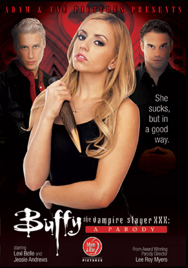 Buffy the Vampire Slayer XXX porn parody, directed by Lee Roy Myers
