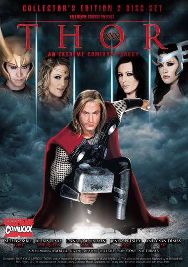 Thor XXX: An Extreme Comixxx Parody