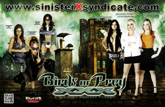 Birds of Prey XXX porn parody poster