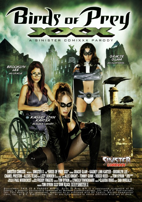 Birds Of Prey XXX Parody - Brooklyn Lee, Kagney Linn Karter, Gracie Glam, Lizzy Borden, Chanel Preston, Alexis Texas