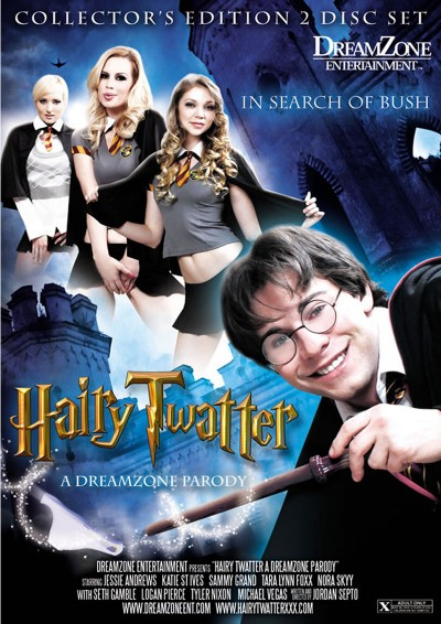 Hairy Twatter - XXX Harry Potter porn parody