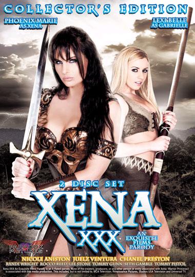 Xena XXX porn parody starring Phoenix Marie and Lexi Belle