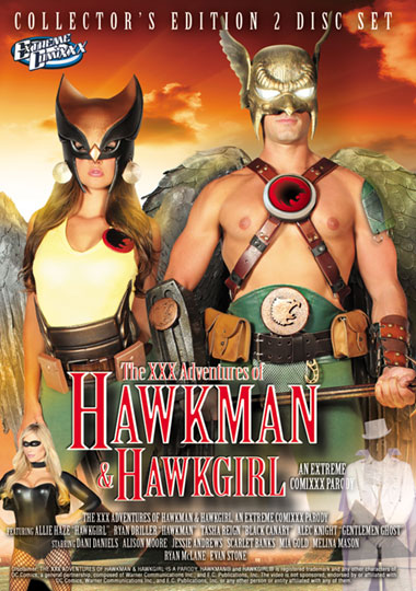 The XXX Adventures of Hawkman & Hawkgirl: An Extreme Comixxx Parody