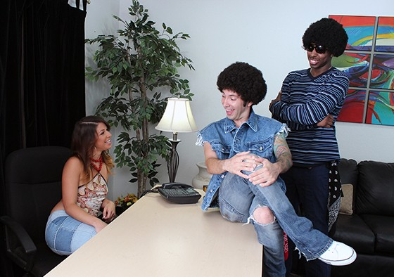 Mia Gold, Tommy Pistol and Jon Jon in Welcome Back Kotter XXX Parody
