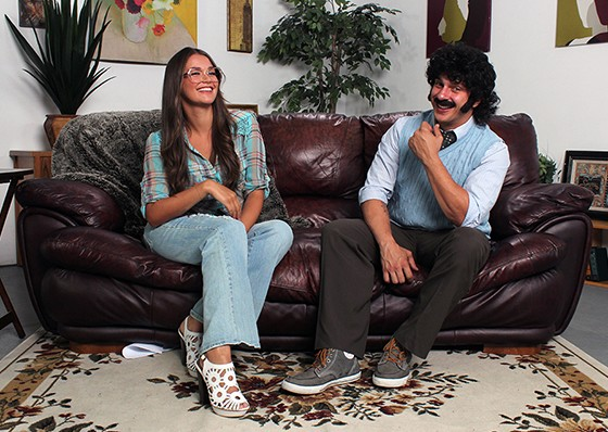 Allie Haze and Anthony Rosano in Welcome Back Kotter XXX Parody