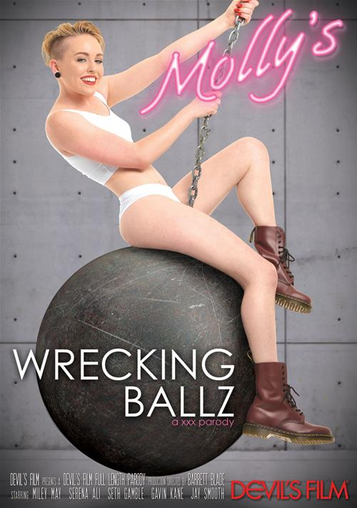 Miley May in Molly's Wrecking Ballz XXX Parody