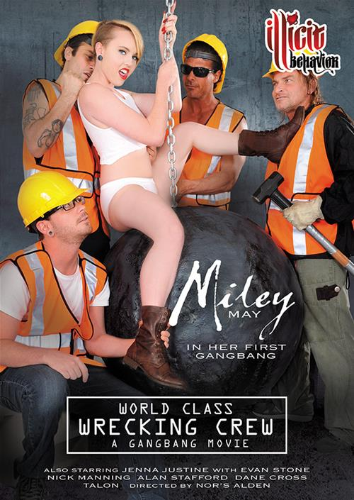 World Class Wrecking Crew - Miley Gangbang Porn Parody