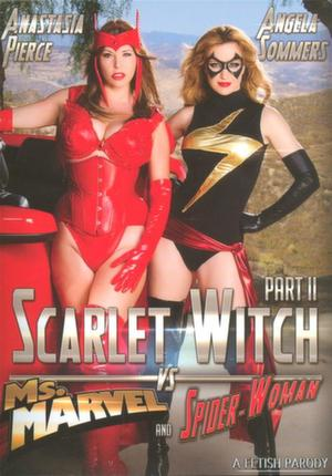 Scarlet Witch vs Ms. Marvel and Spider-Woman