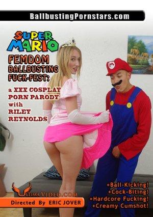 Super Mario Ballbusting Femdom Fuckfest