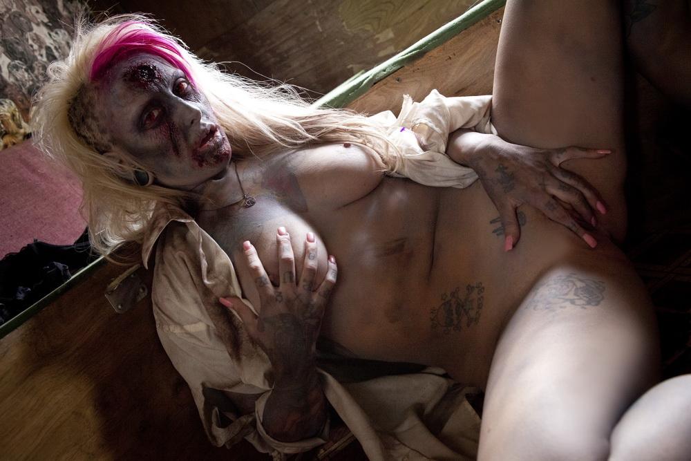 Melanie zombie go boom nude